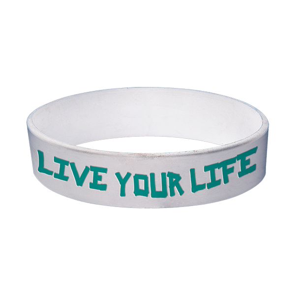 Live Your Life - Wristband