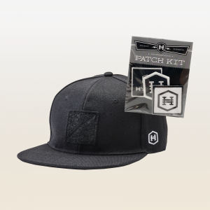 Hyper Snapback Patch Hat + Patch Kit