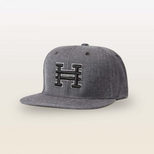 Hyper Snapback Hat (Heather Gray)