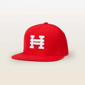 Hyper Snap Back Hat (Red) - Youth