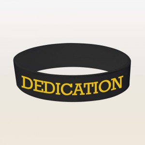 Dedication - Wristband