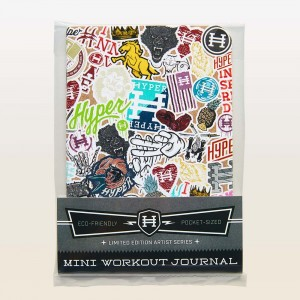 Artist Series Mini Workout Journal